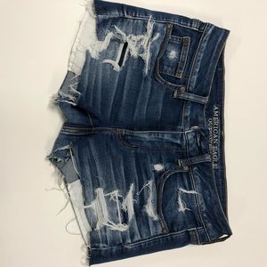 American Eagle shortie shorts